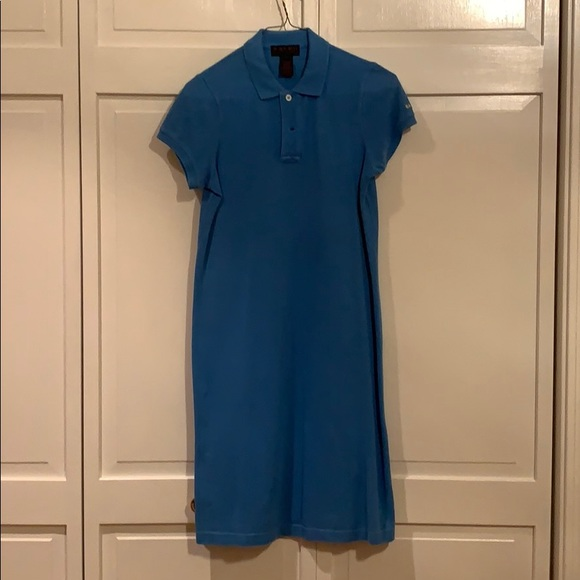 Ralph Lauren Dresses & Skirts - Ralph Lauren, blue, polo dress. Size small.